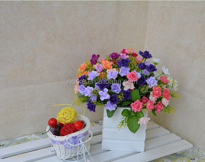 New design factory price artificial flower bouquet