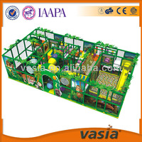 Indoor commercial entertainment park kids playground plastic fort