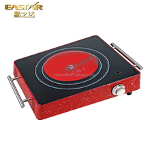 Single Burner Ceramic Stove Wholesale Ceramic Hob Cooking Appliance Electric Infrared Cooker For Sale