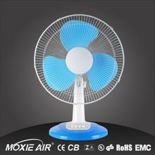 "16"" 3 ABS Plastic Material and Table Installation mini air conditioning table ceiling fan"