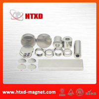 Strong industrial ndfeb magnets of high precision