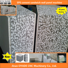 2015 new item !! eps bubble and cement composite wall panel making machine