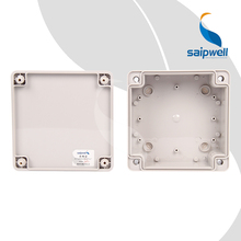 SP-02-161660 160*160*60 CE Square Project Box IP65 ABS Waterproof Saip Saipwell Box Electronic Enclosure Plastic