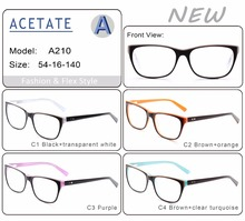 China pictures of optical frameseyewear frame glassesacetate CE/ FDA