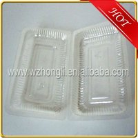Customized plastic blister packing for food