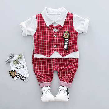 2018 hot sale Spring Autumn Newborn Baby Kids Clothes Outfits 2pcs clothes baby suit
