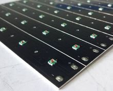 660nm red color led grow light pcb for hydroponic lighting led pcb grow led light pcb assembly