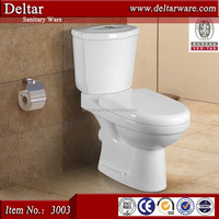 Twyford toilet wc made in china, toilet cheap price, best sell two piece wc toilet s/p trap with 4 inch outlet