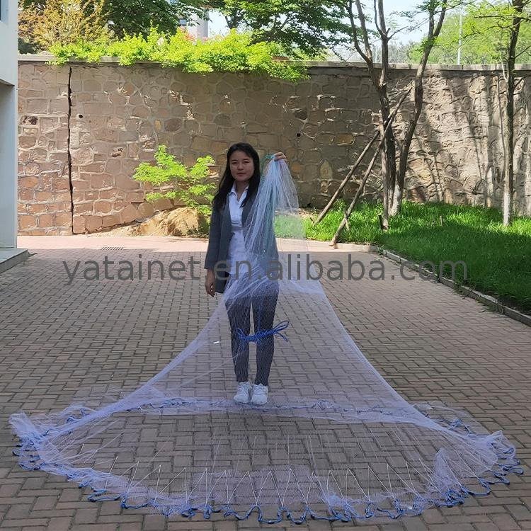 traditional hand cast net