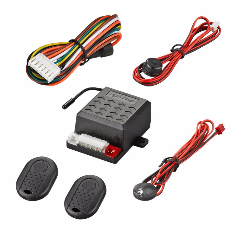 Micro car alarm system/ wireless car alarm knee immobilizer