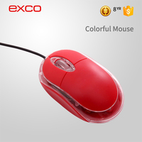 EXCO USB 2.4 ghz high-tech wired blank optical laptop notebook mouse