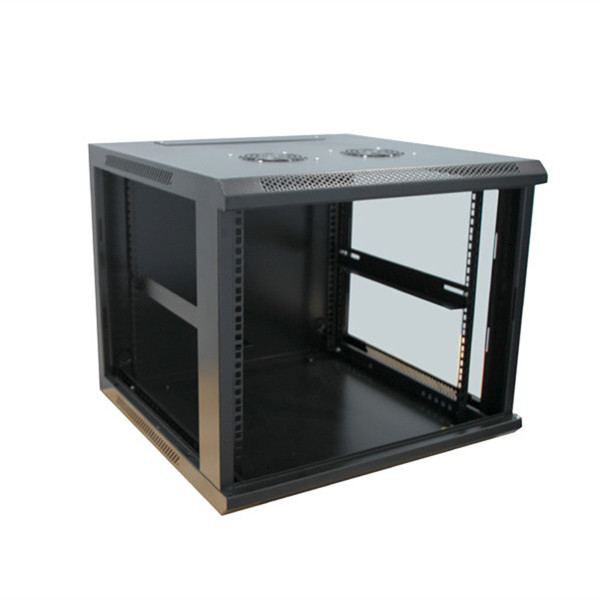 Custom small wall mount file/ network cabinet