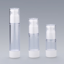 30ml 50ml 15g 30g 50g Empty Acylic Cosmetic Airless Lotion Pump Square Bottles