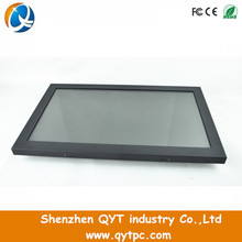 QYT 17 inch IR Touch LCD open frame lcd monitor for kiosk