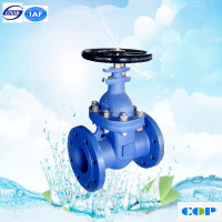 sewage water metal seated cast steel non-rising stem gate valve