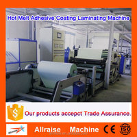 High Speed Hot Melt Adhesive Sticker Labels Coating Machine