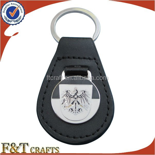 cheap promotional wholesale imitation leather key chain