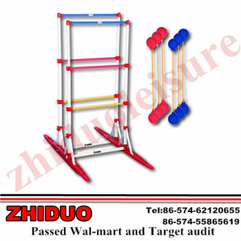 Ladder golf game set