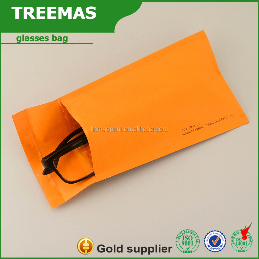 New products microfiber eyeglasses pouch/ eyeglasses packet/ lens bag of envelopes to protect and decorate glass china supplier