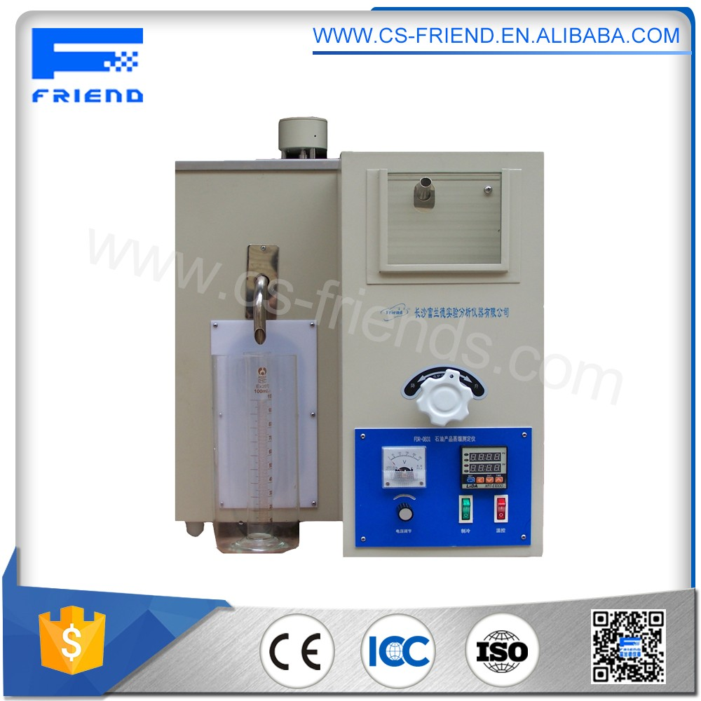 Intelligent control system Petroleum products Distillation analysis instrument