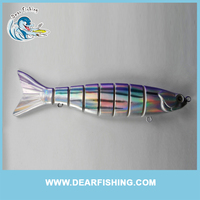Fishing Plastic Lures Muliti-Setions Luminous Lure