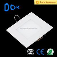 ceiling light flush mounted 6w square smd led panel lighting