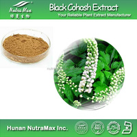 100% Natural Black Cohosh Extract Triterpene Glycosides with Best Quality