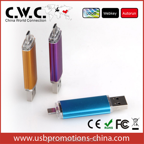The Most Convenient OTG USB Multifunctional Smartphone OTG USB Flash Drive