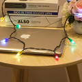 Christmas tree decoration blinking led christmas light charging cable China factory