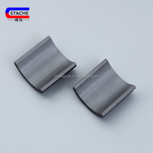 Customized Y30H grade arc ceramic magnet with permanent motors