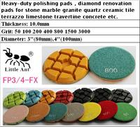 4 inch 100 mm diamond Floor polishing pads, diamond abrasive For concrete Stone Granite Marble Quartz