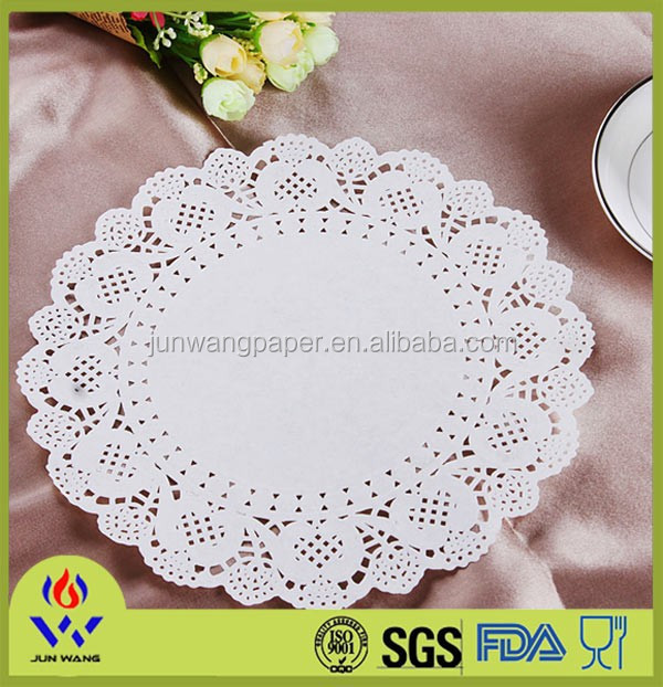 65cm round shape disposable paper table cover