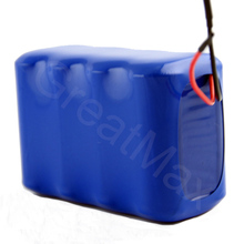 Rechargeable 8x18650 cells 7.4V 8Ah Li-ion battery pack for electric toy car