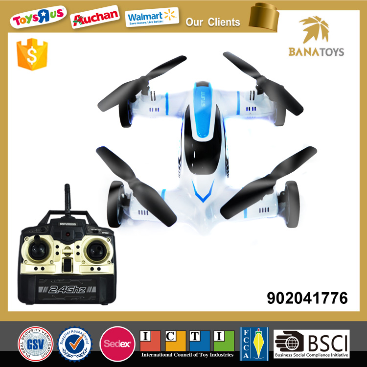 Free Shipping 4CH rc go drone flying car for kids