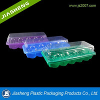 2015 New design beautiful plastic vegetable seedling tray