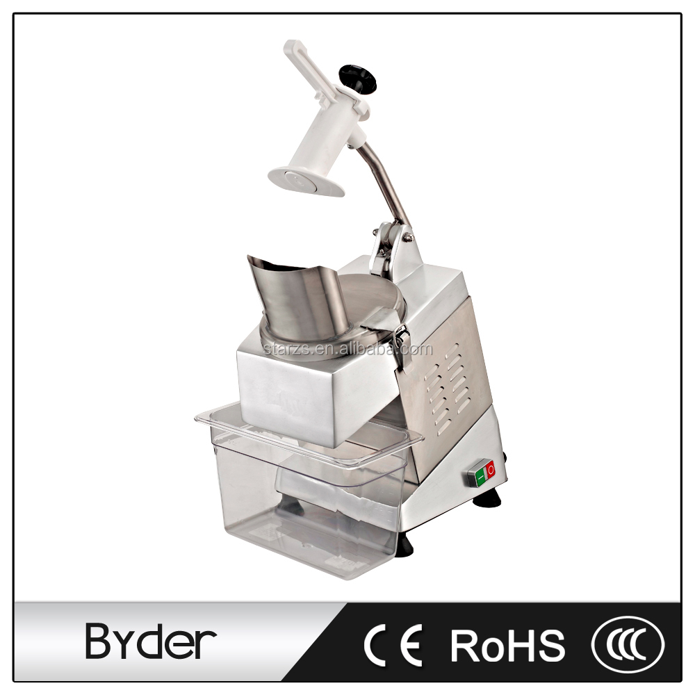 350W Commercial Electric Fruit & Vegetable Chopper Slicer Cutter Cutting Slicing Machine