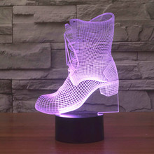 why to order cute home decoration 3d lamp table light with usb