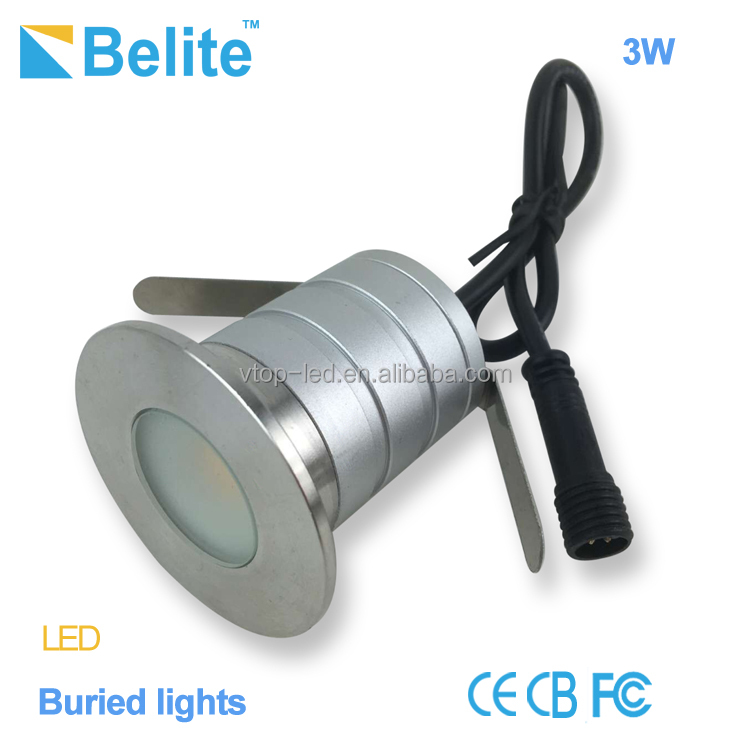 led recessed ground light DC12V led garden spot light