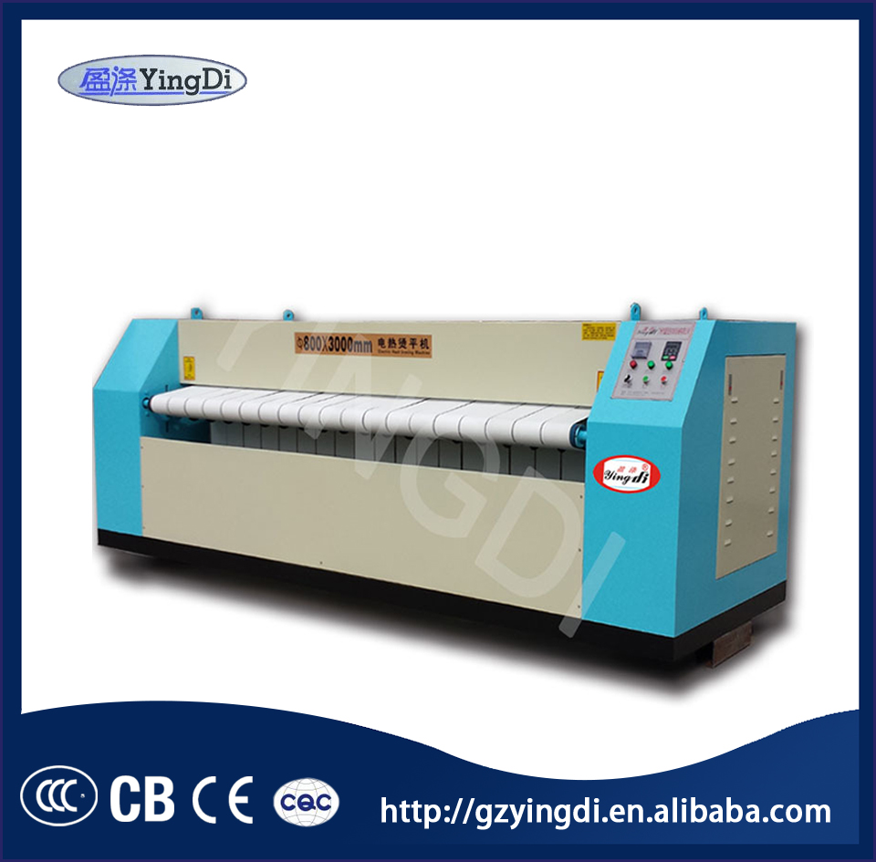 1-4 roller electric tablecloth curtain sheets ironing machine laundry steam flatwork ironer for sale