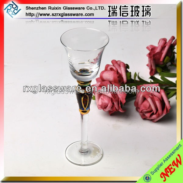Clear mini champagne glass