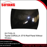 Replacement roof panel For Toyota corolla 2007-2010 Auto Body Parts