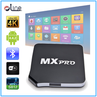 New styles Android 4.4 iptv box indian channels MXpro android tv box