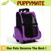 WHEELED and AIRLINE APPROVED COLLAPSIBLE DOG TRAVEL CARRIER