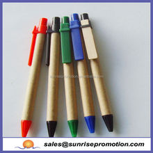 Promotional Eco Recycle Kraft Paper Pen,Carton Pen