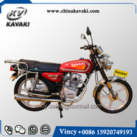 Guangzhou Motorcycle Factory 4 Strokes 125CC Classic Style Street Motorcycle Cheap Price