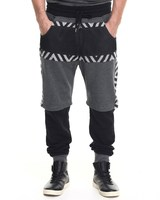 fashion street layered hip hop pants for sale