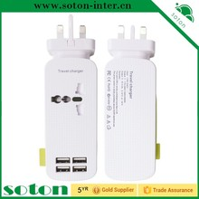 High quality usb wall charger, 4 port usb charger, micro usb charger