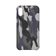 New PU Shockproof Printing Leather full back cover Camouflage Phone Case For iPhone X 8