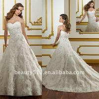 2012 new style sweetheart wedding dress WD2012014