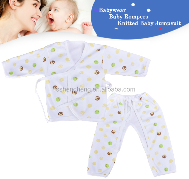 2015 New Arrival 100% cotton organic 2015 new year baby clothings BB001